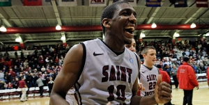 No changes at the top, but senior guard Langston Galloway's hot shooting (18.0 ppg, 48% 3-pt.) has helped St. Joe's leap-frog La Salle University.